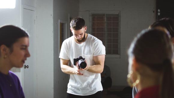 Self-tape tips for modelling casting