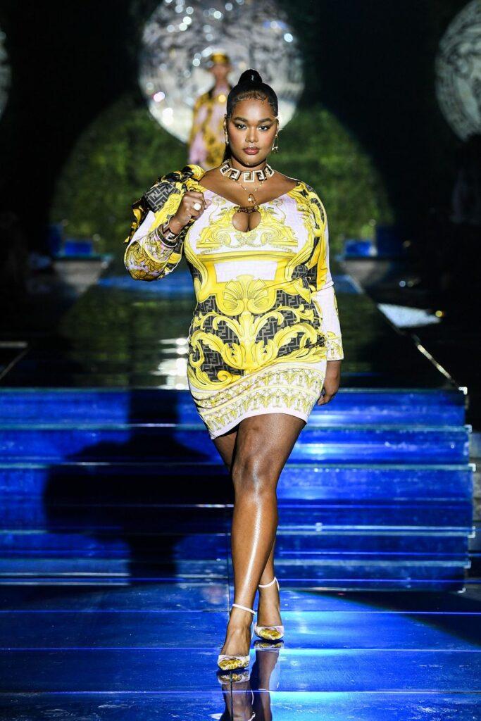 Look 14 / Versace by Fendi