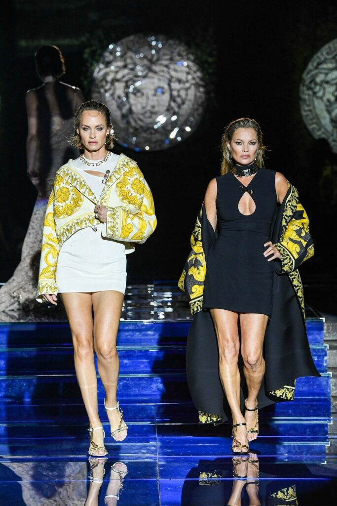 Look 24 / Versace by Fendi