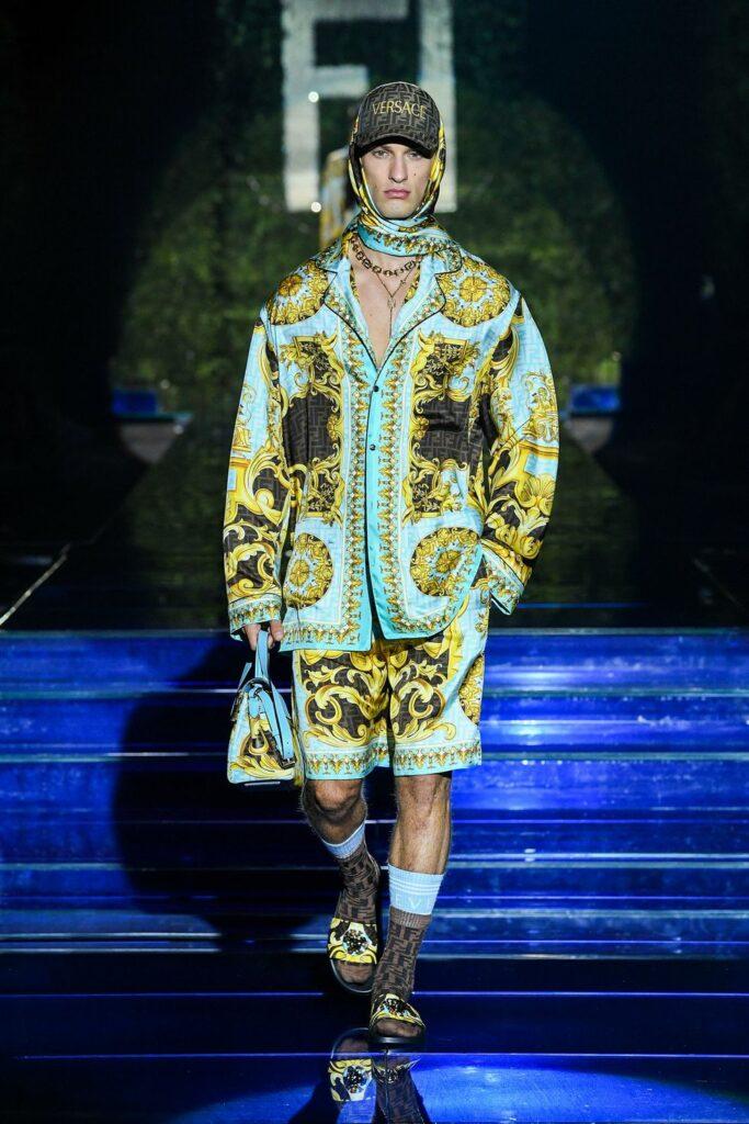 Look 12 / Fendi by Versace