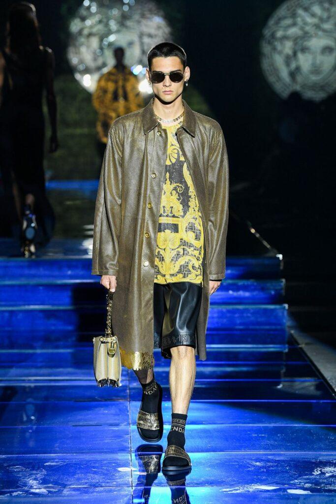 Look 6 / Versace by Fendi
